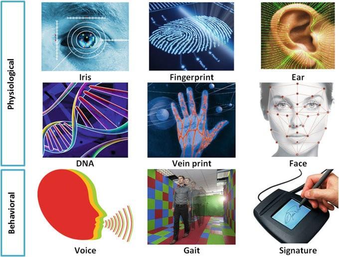 tipos de leitores biometricos