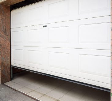 bigstock Garage Door Pvc Hand Use Remo 282680386